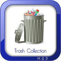 Trash Collection Areas Map