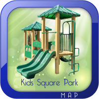 Kids Square Park Map