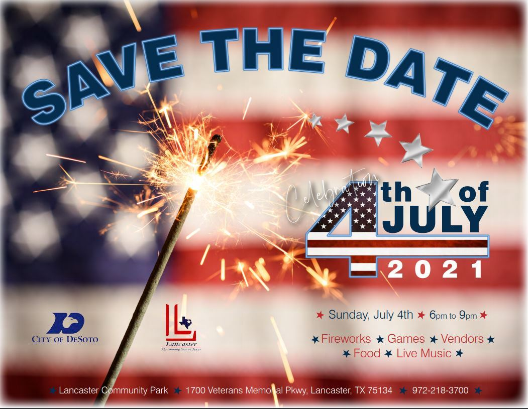 July 4th Save the Date