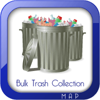 Bulk Trash Collection Areas Map